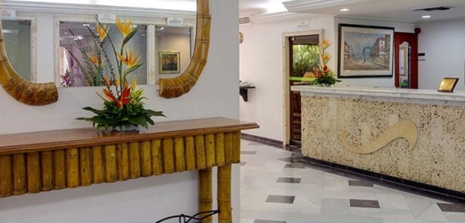 Recepcion  Fuente hotelbarlovento com